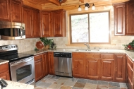 PineCone Cottage Interior Kitchen View